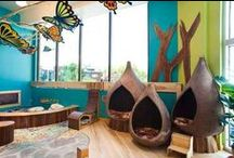 Nursery Woodland / Decorating ideas for a baby boy's nursery in green and brown with a woodland theme.