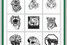 Blackwork Machine Embroidery Designs / Blackwork machine embroidery designs designed for a single color be it black or whatever other color your creativity dictates.