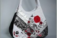 Handbags / Machine Embroidery Designs that create handbags, purses and tote bags