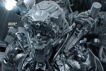 Concept Art: Robots, Mechs, Drones
