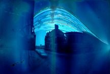 Solargraphs / Solographs are super long exposure (months and months) onto light sensitive materials. All images made by members of Leicester Lo-Fi Photography