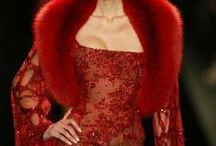 """Couture ♔ Robes Rouges / ♔ Please follow the """"Pinterest Etiquette"""" and limit your pins to 10 pins per Board and 15 pins overall per day. Thank you.♔  / by Misha Alexis"""