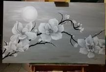 Quadri di Romina Saderi ( I miei dipinti) / Dipinti ad olio e acrilico.