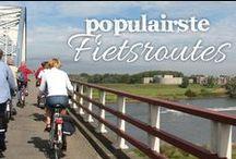 De populairste fietsroutes / Top 10 meest bekeken fietsroutes op route.nl in de periode van vrij 6 juni tot vrij 13 juni 2014. Stap mee op je fiets voor een gezellig dagje uit en geniet van al het moois dat Nederland en België je te bieden hebben.