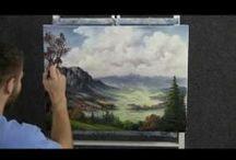 video di pittura