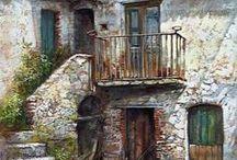 Inspiration for paintings / Quadri preferiti.