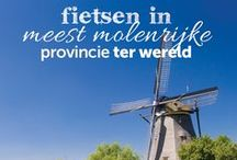 Fietsen in de meest molenrijke provincie ter wereld / Molens zijn mooie werktuigen die een belangrijke rol hebben gespeeld bij de ontwikkeling van Nederland. Stap mee op de fiets en ontdek het unieke polderlandschap van Zuid-Holland. Op zoek naar meer molenroutes? Surf dan naar www.route.nl/fietsroutes/Molenroute/ en laat je inspireren.