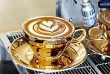 "Coffee Therapy / ♔ Please follow the ""Pinterest Etiquette"" and pin respectfully.♔  / by Misha Alexis"