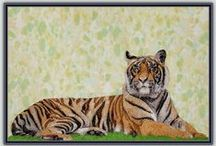 BIG CAT DESIGNS / Lions, Tigers, Leopards - you will find all of our Big Cat designs here!