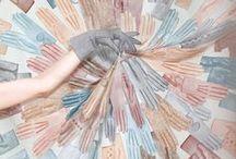 """Gants"" scarves / ""Gants"" silk scarves collection by SuTurno http://www.suturno.net/  Photo: Lourdes Cabrera http://www.lourdescabrera.es/ Model: Andrea Pimentel"