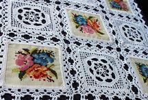 Crochet y Palillo Ideas / Tejidos