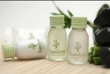 Bamboo / A body care collection composed of delicate products and a single goal: give pleasant sensations of well-being.  The collection is enriched with bamboo extract, known for centuries for its soothing and antioxidant virtues. Bamboo will give your guests relaxing and refreshing moments and it will improve their hair and skin health. Dermatologically tested, No Parabens, Silicone and Mineral Oil.  More on: http://www.allegriniamenities.com/en/bamboo.aspx