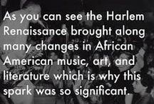 """Goldsmiths uni, Visual Cultures dept - Mood board 1 / """"(Sub) Cultural Movements/Scenes"""" project ideas: looking at the Harlem Renaissance and it's connections, similarities and differences with other contemporary cultural movements/scenes."""