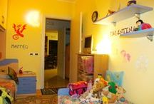 Progetto Pony&Draghi / Rifacimento pittura camera e decorazione pareti con Pony e Drago Fantasy