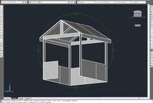 """Casetta """"Ikea"""" / Realizzazione di casetta in legno con moduli scaffali in legno Ikea"""