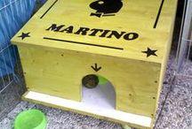 Casetta coniglio / Realizzazione di una casetta in legno per conigli