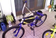 Bicicletta Blue - Matteo / Riverniciatura vecchia bicicletta