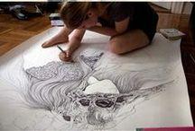 Malování - obrázky pro inspiraci