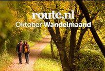 Oktober Wandelmaand / Speciaal voor jou organiseren wij de 'Oktober Wandelmaand' … een maand boordevol leuke wandeltochten voor en gezellig dagje uit. 31 routetips en inspiratie voor verrassende plekken om aansluitend ontspannen aan te meren bij een mooie gelegenheid waar je een kop koffie of een warme chocolademelk kunt scoren.