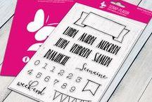 Tampons Journaling / Bullet Journal   Planner   organisation