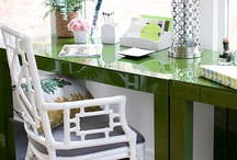 Our Favorite Desks / While desks are generally for working, that doesn't mean they can't be absolutely fabulous. Check out these inspiring ideas!