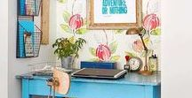 Apartments & Small Spaces / Inspiring decorating ideas for apartments or other small spaces.