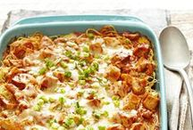 Casseroles to Make Tonight! / Dinner doesn't get any heartier or easier than this.  / by Better Homes and Gardens