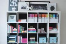 Organization Ideas / by Katie Oholorogg