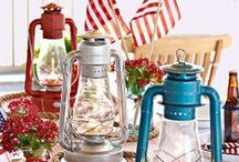 Fourth of July  / Festive Independence Day recipes, crafts and decorating ideas! http://www.bhg.com/holidays/july-4th/