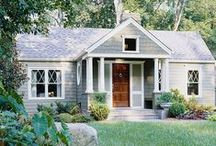 Curb Appeal / Looking to update your home's exterior? Get inspired by these pretty facades! Learn more here: http://www.bhg.com/home-improvement/exteriors/curb-appeal/
