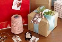 Gift Wrapping Ideas / Get inspired to create DIY gift wrapping and ways to create crafty packaging for presents!