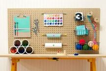 Creative Types Rule Here! / Stylish spaces for work and play.