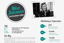 CV / by Ariana Amorim