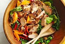 Fresh Salad Recipes / Toss a fresh summer salad together for a delicious, seasonal dinner. Visit BHG.com for more recipes: http://www.bhg.com/recipes/salads/ideas/garden-fresh-salads/