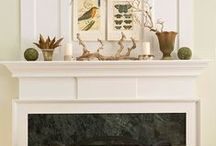 Fancy Fireplaces / We share our ideas to turn your fireplace into a focal point.