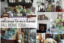 Finding Fall Home Tours / Get autumn home inspiration from BHG and our blogger friends!