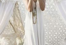 White dreams / Wedding dresses, bohemian style, white dreamy things...