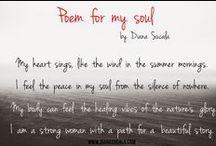 Beautiful thoughts / Poetry, words that touch my soul...