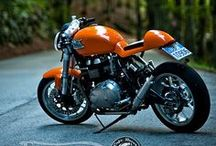 Moto - Motorcycle - Cafe racer / motorcycle inspiration / by Mauboussin Eric
