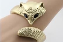 Fox 40 World | Beautiful Fox Jewelry / Beautiful, artistic jewelry in a Fox theme!