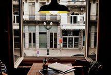 The view from the window,door / 窓外、景色
