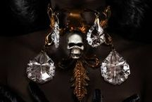 """""""Royal Goth"""" / CREDITS: """"Royal Goth""""  Production - Concept - Styling: Pericles Kondylatos """"Black Death"""" Jewellery Collection by Pericles Kondylatos Photos by Panos Vassilopoulos Hair: Konstadinos Savvakis Make-up: George Valvis Model: Roxane Lascaridis by VN MODELS Available to buy on-line @ Etsy e-shop: https://www.etsy.com/shop/PericlesKondylatos"""