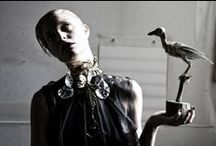 """""""BLACK DEATH"""" by Mara Desipris / CREDITS Photos by Mara Desipris Concept - Styling: Mara Desipris  & Pericles Kondylatos  Model: Anastasia Perraki """"Black Death"""" Jewellery Collection by Pericles Kondylatos Clothes by Deux Hommes Hair & Make-up: George Valvis First Publish  by http://www.unnouveauideal.typepad.com/ December 2013 See it also here: http://www.filepmotwary.com/motwary/2013/12/black-death-jewellery-collection-by-pericles-kondylatos.html See more about Deux Hommes: http://www.deuxhommes.gr/"""