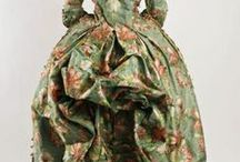 1770 and 1780s / ladies fashion of the 1770 and 1780s / by Elena Rueda