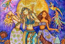 Triplice Dea - Triple Goddess