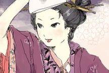 江戸時代の生活 La vita nel Periodo Edo / Il periodo Edo, o 江戸時代 Edo-jidai, e` il mio periodo giapponese storico preferito in assoluto.  Ne ammiro la cucina, le abitudini, il vestiario, l`architettura.