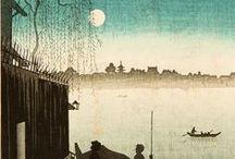 隅田川 il fiume Sumida / Questa bacheca e` dedicata al fiume Sumida che attraversa Tokyo. Amo questo fiume perche`, secondo me, e` una traccia ancora tangibile del vecchio Giappone. E` un corso d`acqua imbevuto di nostalgia, suoni, immagini e sensazioni che appartengono ad un Paese che ormai esiste solo nei ricordi e nei dipinti.