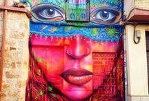 Look Around You... / Artists' work found outdoors.. / by Bobbie Oila