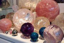 Love Spheres / Rock, Crystal, Gems, Mineral, Wood, Etc. / by Nadine Reusser