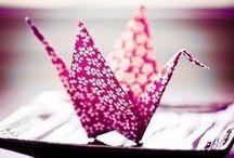 折り紙 Origami / Questa bacheca e` dedicata all`antica arte dell`origami, arte che affonda le sue radici nella Vecchia Cina dove - secoli e secoli orsono - venne inventata la carta.  Questa bacheca e` un tributo alla piegatura della carta, ovverosia l`origami.